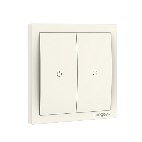 Koogeek Smart Light Wi-Fi Switch 220 ~ 240V Compat ...