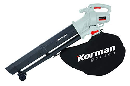 Korman garden - aspirador triturador soplador eléctrico 3000 ...