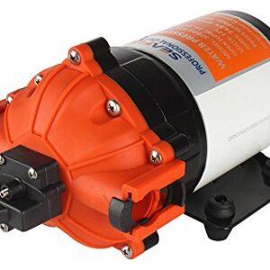 LIGHTEU®, Seaflo DC 12V 7.0 GPM / 26.5LPM 4.1 Barra de presión ...