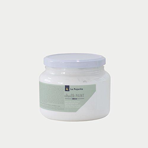 La Pajarita Chalk Paint White Chalk Paint Cloud, 500 ml