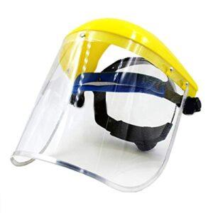 La máscara de protección de PVC transparente Pegcdu Safety reemplaza ...