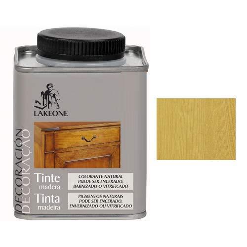 Lakeone 50101/1/4L.01 Tinte para La Madera, Roble Claro, 250...