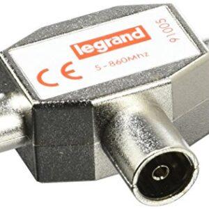 Legrand LEG91005 - Divisor para señal de TV (1 entrada hembra ...