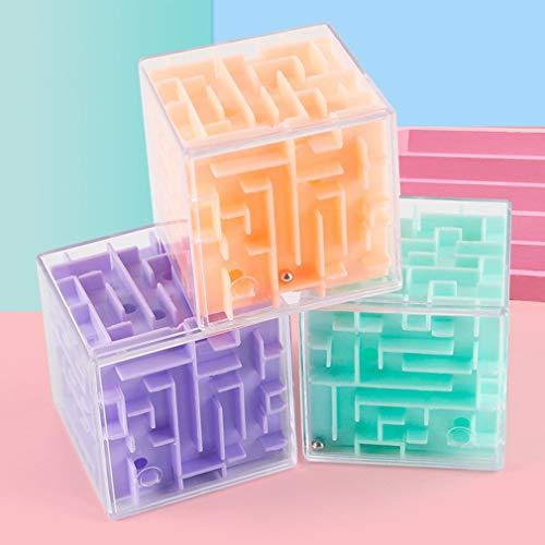 Leoboone 3D Maze Ball Rotation Cube Professional Speed Cub ...