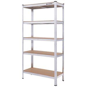 Librería Songmics 180 x 90 x 40 cm para cargas pesadas ...