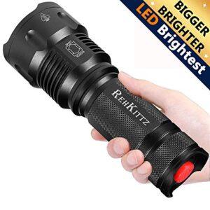 Linterna LED de alta potencia militar T6 foco ajustable I ...