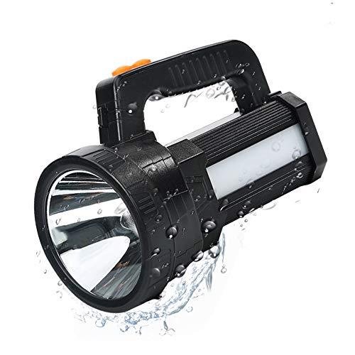 Linterna LED recargable 3 en 1 Super brillante 9600mAh Al ...