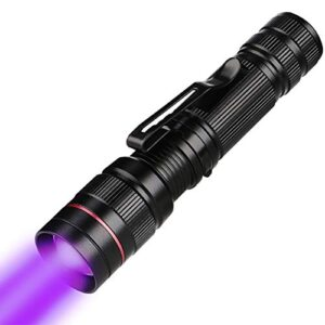 Linterna UV, LED Linterna UV Luz negra, Luz UV ...