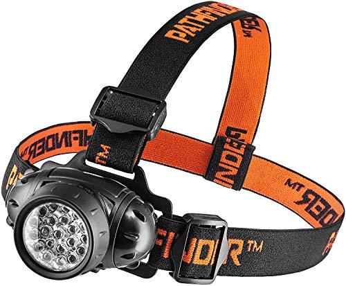 Linterna frontal con 21 luces LED - Linterna de luz, ...