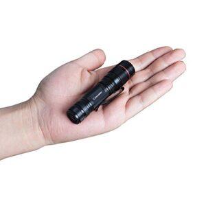Linterna táctica LED Coomatec SD-200 Mini EDC, zoom, 350lm ...