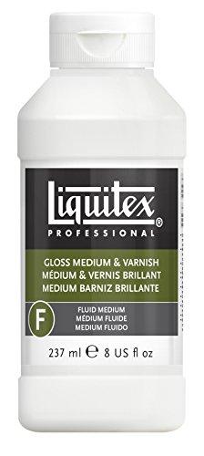 Liquitex - Fluido medio - Barniz líquido brillante de 237 m ...