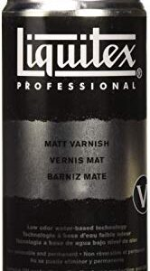 Liquitex Professional - Barniz mate en spray, 400 ml