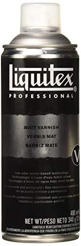 Liquitex Professional - Barniz mate en spray, 400 ml
