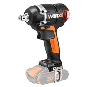 Llave de impacto Worx WX279.9, 0 W, 20 V, negro y naranja