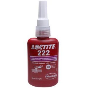 Loctite 222 - Bloqueador de hilos estilo 50 ml de la UE