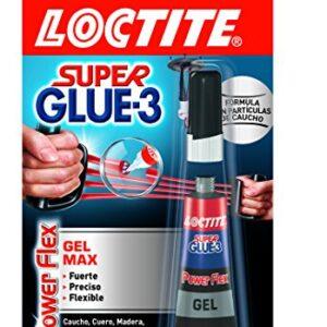 Loctite Super Glue-3 Power Flex formato Gel Control, adhesivo ...