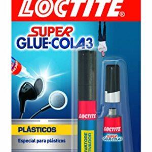Loctite Super Glue-3, adhesivos instantáneos plásticos difíciles ...