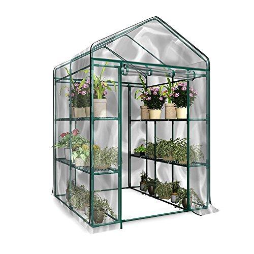 Loveinwinter Greenhouse Garden, 143X73X195 Cm Deck ...