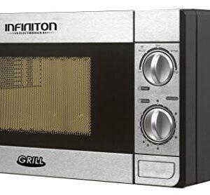 MICROONDAS INFINITON MW-1115 700W con parrilla INOX.