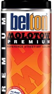 MOLOTOW Premium Spray 400 ml, 251 colores - negro