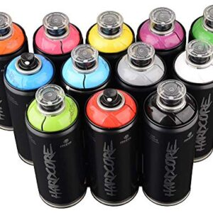 MTN Hardcore 2 400 ml de colores populares Conjunto de 12 Graff ...