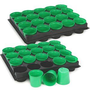 Macetas de semillas COM-FOUR® 40x con macetas para cultivo ...