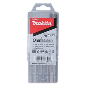 Makita D-30477 - Kit de taladro multimaterial 5 unidades. Omn ...