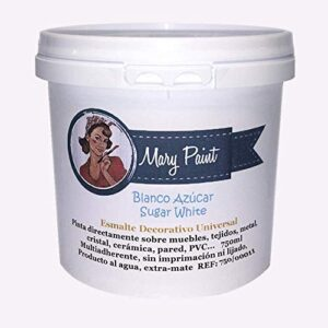 Mary Paint 750/00011 White Water Paint 750 ml