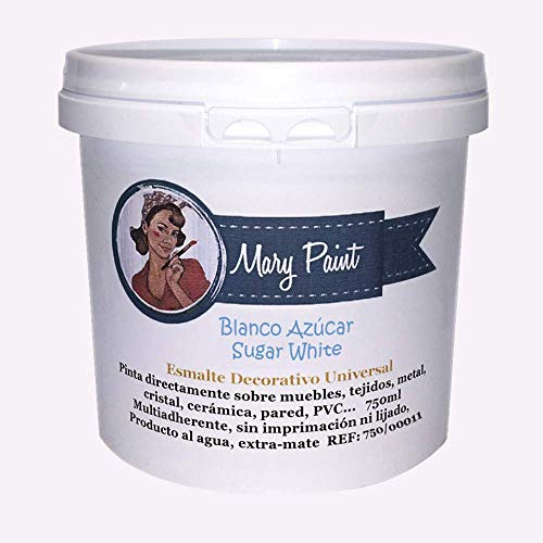 Mary Paint 750/00011 White Water Paint 750 ml