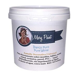 Mary Paint | Pintura para muebles efecto Chalk Paint, Blanco ...