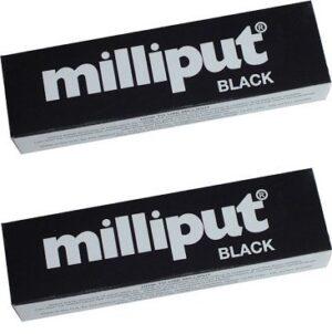 Masilla epoxi Milliput, color negro