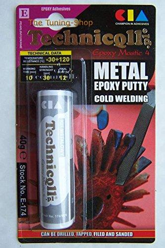 Masilla epoxi para metales (acero, aluminio, bronce, hierro ...