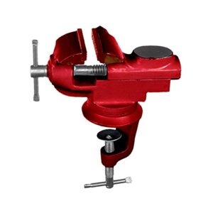 Max-power 040256 Tornillo de banco giratorio de hierro fundido 50 m ...