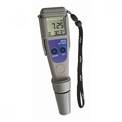 Medidor de pH / Medidor de pH y temperatura Impermeable Adwa ± 0.0 ...