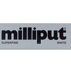 Milliput Superfine White - Masilla epoxi de 2 partes (113.4 gramos)