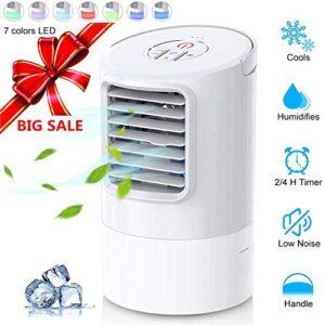 Mini aire acondicionado enfriador portátil humidificador, ...