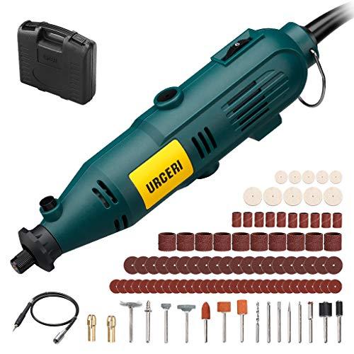 Mini amoladora eléctrica, herramienta rotativa URCERI 135w con ...