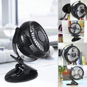 Mini ventilador USB de 5 pulgadas WEINAS® 360 grados de rotación ...