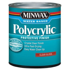 Minwax 255554444 c La protección a base de agua termina con ...