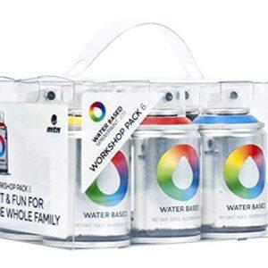 Montana Colors Pack Spray a base de agua 6 colores principales - Spray ...