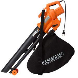 Monzana 3in1 soplador aspirador y trituradora de jardín max ...