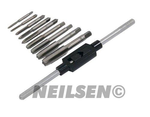 Neilsen CT1467 M3 / M4 / M5 / M6 / M7 / M8 / M10 / M12 Die Rethre métrico ...