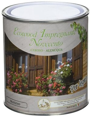 Novecento cera 9136 EcoWood barniz, ceniza, 750 ml