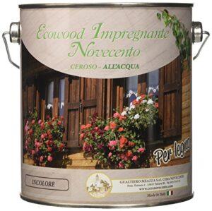 Novecento cera 9146 EcoWood barniz, incoloro, 2.5 L)