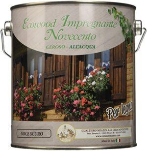 Novecento cera 9155 EcoWood barniz, Nogal oscuro, 2.5 L)