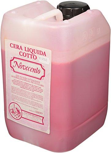 Novecento cera k923 cera líquida Cotto, rojo Casale, 5 L