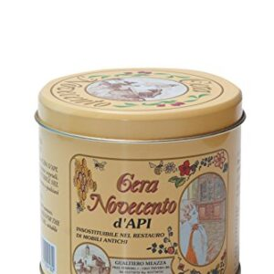 Novecento cera y 921 cera de abejas, nuez mediana, 500 ml
