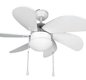 Orbegozo Ceiling Fan, White