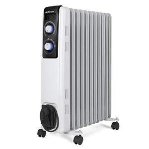 Orbegozo RF 2500 Radiador de aceite, 2500W de potencia, cons ...