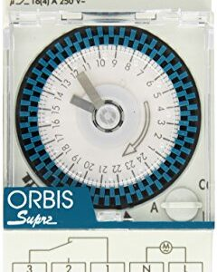 Orbis Supra D 230 V Interruptor de tiempo de distribución analógica